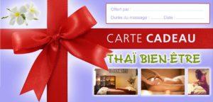 Massage Carte Cadeau Aromathérapie